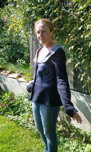 Jacke blau Spinnweb5 72px